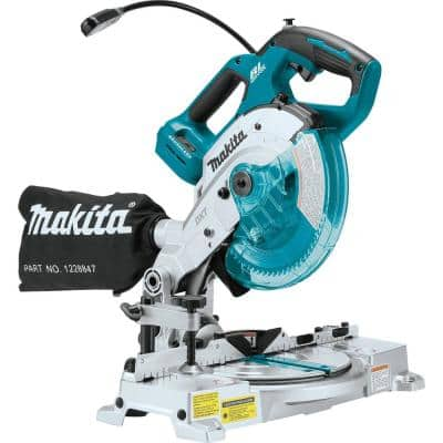 18-Volt LXT Lithium-Ion Brushless Cordless 6-1/2 in. Compact Dual-Bevel Compound Miter Saw with Laser (Tool Only)