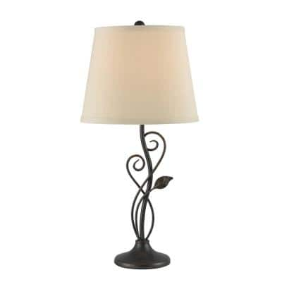 Stratus 26 in. Oil Rubbed Bronze Table Lamp