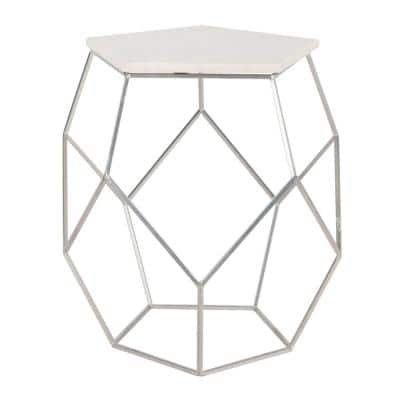 Faux Marble End Tables Accent Tables The Home Depot