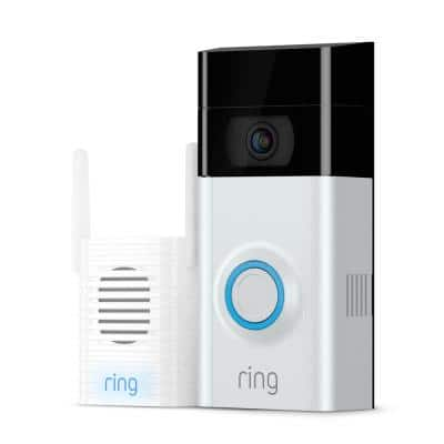 Wireless Video Doorbell 2 with Chime Pro