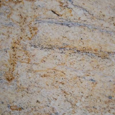 4 in. Stone Effects Vanity Top Sample in Tuscan Sun