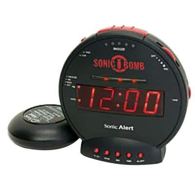 Sonic Bomb Digital Alarm Clock