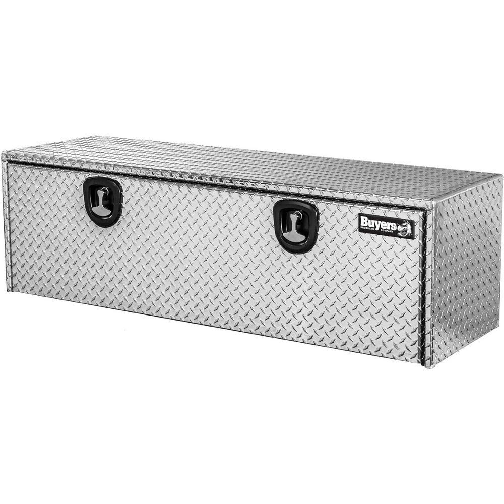 18 in. x 18 in. x 48 in. Diamond Plate Tread Aluminum Underbody Truck Tool Box