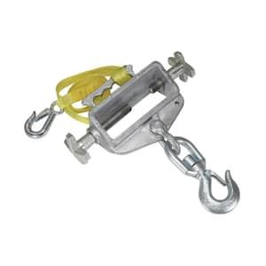 Hoisting Hook Single Fork Swivel Latch