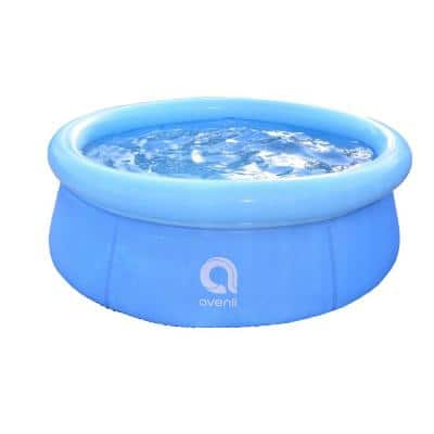 Outdoor Backyard 5.5 ft. Round 20 in. Inflatable Pool