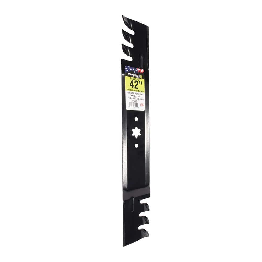 """2 USA Mower Blades® High Lift for Cub Cadet 742-0616A 942-0616A 42/"""" Deck"""