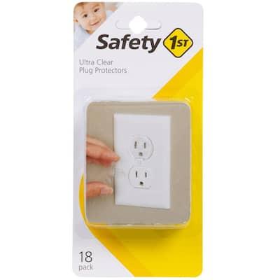 Ultra Clear Plug Protectors (18-Pack)