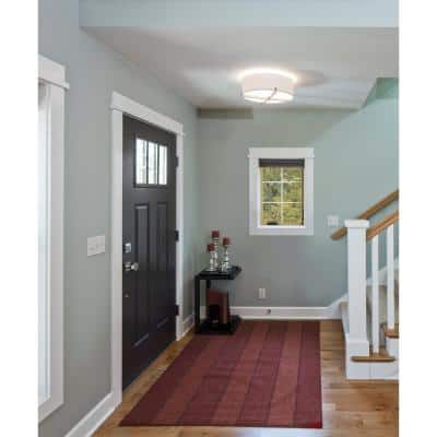 24 in. x 36 in. W-2500 Series Bronze Painted Clad Wood Right-Handed Casement Window with Colonial Grids/Grilles