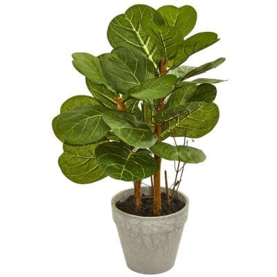 22 in. Fiddle Leaf Artificial Plant