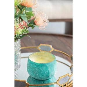 5.5 in. Dia Blue Apple Blossom Soy Wax Candle
