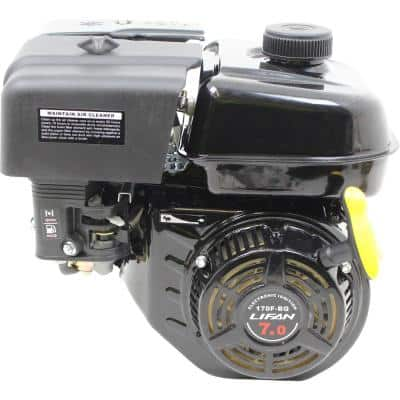 7 HP 3/4 in. Horizontal Shaft Recoil Start Gas Engine