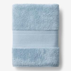 Legends Regal Blue Sky Solid Egyptian Cotton Bath Sheet
