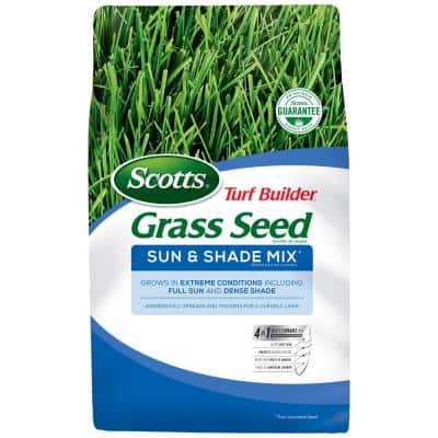 3 lb. Turf Builder Grass Seed Sun and Shade Mix
