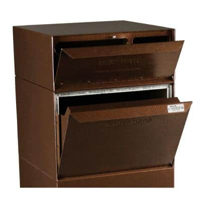 Full Service Vault Mailbox with Mail and Package Delivery in Copper Vein