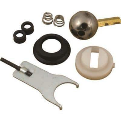 Repair Kit for Delta Crystal Knob Handle Single-Lever Faucets