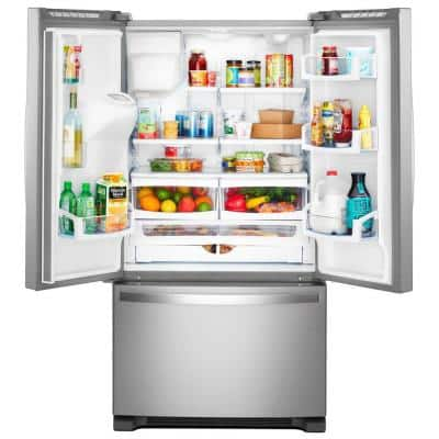 20 cu. ft. French Door Refrigerator in Fingerprint Resistant Stainless Steel