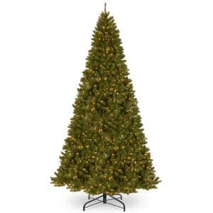 16 ft. North Valley Spruce Artificial Christmas Tree with Clear Lights