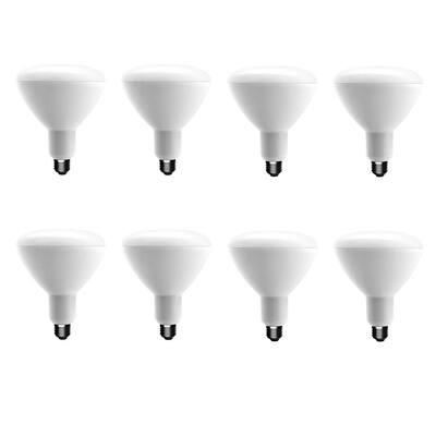 90-Watt Equivalent BR40 Dimmable ENERGY STAR LED Light Bulb Soft White (8-Pack)