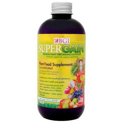 8 oz. 1,600 sq. ft. Organic Supergain Liquid Plant Food Supplement