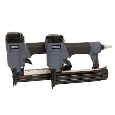 1-1/4 in. x 18-Gauge Brad Nailer and Narrow Crown Stapler Combo Kit