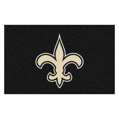 NFL - New Orleans Saints Rug - 5ft. x 8ft.
