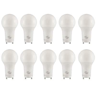 75-Watt Equivalent A19 ENERGY STAR and Dimmable LED Light Bulb, Soft White 3000K (10-Pack)