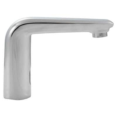 4 in. Centerset Touch Free Sensor Bathroom Faucet without Deckplate in Polished Chrome