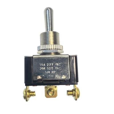 20 Amp 125-Volt AC SPDT Toggle Switch (Case of 5)