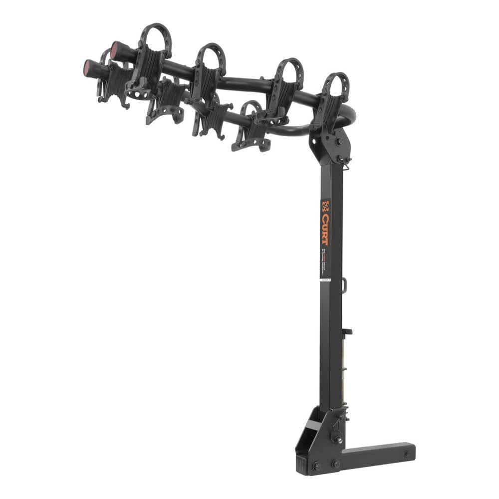 CURT 4-Bike Premium Hitch Mounted Bike Rack