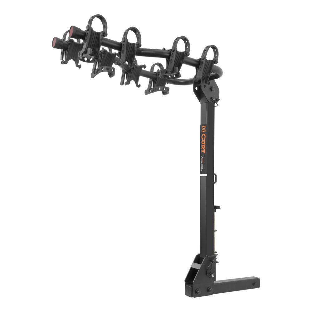 4-Bike Premium Hitch Mounted Bike Rack
