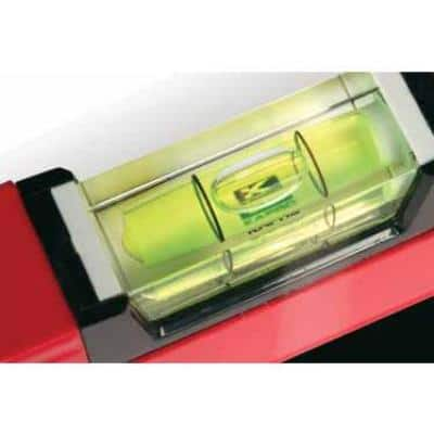 36 in. Apollo Magnetic Box Level with Magnified Vials and Plumb Site
