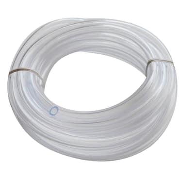 1/4 in. O.D. x 1/6 in. I.D. x 10 ft. Clear PVC Vinyl Tube
