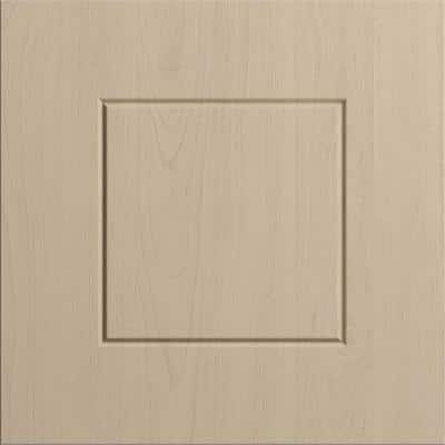 PVC Cabinets 12 x 12 in. Cabinet Door Sample in River Sand
