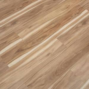 Vinyl Pro With Mute Step Coastal Eucalyptus 7.25 in. W x 48 in. L Waterproof Luxury Vinyl Plank Flooring (24.03 sq. ft)
