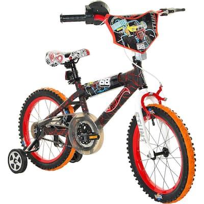 16 in. Boys Hot Wheels Bike