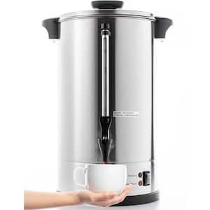 1.6 Gal. Silver Stainless Steel Coffee Beverage Serveware