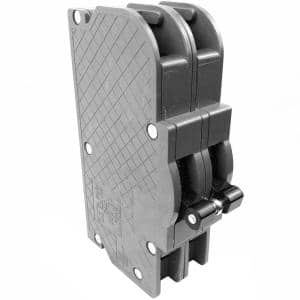 New Zinsco Bolt-On Thick 60 Amp 2 in. 2-Pole UBI Type QCB Circuit Breaker