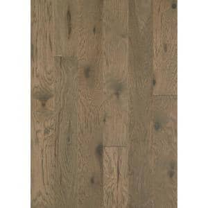 Hampshire 6-3/8 in. W Weathered Engineered Hickory Water Resistant Hardwood Flooring (30.48 sq. ft./case)