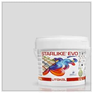 Starlike EVO Epoxy Grout 105 Bianco Titanio Classic Collection 2.5 kg - 5.5 lbs.