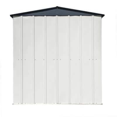 3 ft. x 6 ft. Grey Flute and Anthracite Space Maker Patio Shed