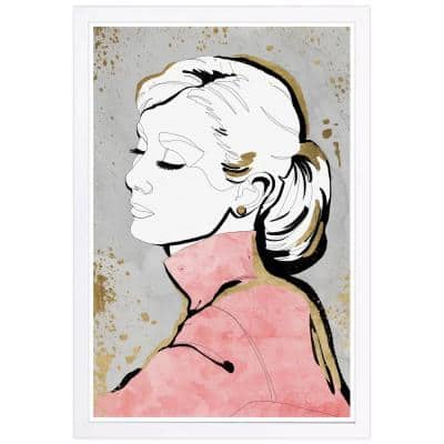 Contour Icon' Framed People Art Print 19 in. x 13 in.