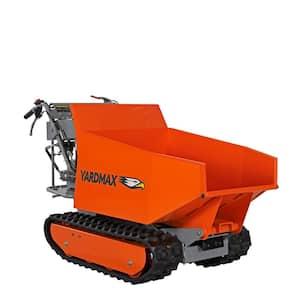 YD8105 Track Barrow with Hydraulic Assist, 1100lb. Capacity, Briggs CR950, 6.5 hp, 208cc