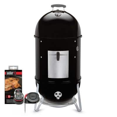 Smokey Mountain 18 in. Cooker Smoker Combo with iGrill Mini