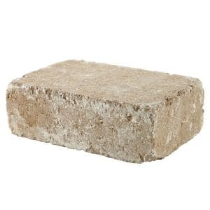 RumbleStone Large 3.5 in. x 10.5 in. x 7 in. Merriam Blend Concrete Garden Wall Block