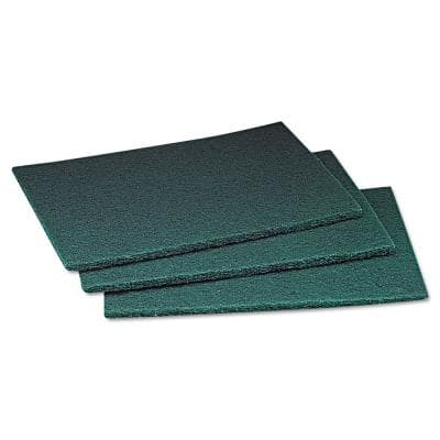 6 in. x 9 in. Commercial Scouring Pad (20/Box) (3 Boxes/Case)