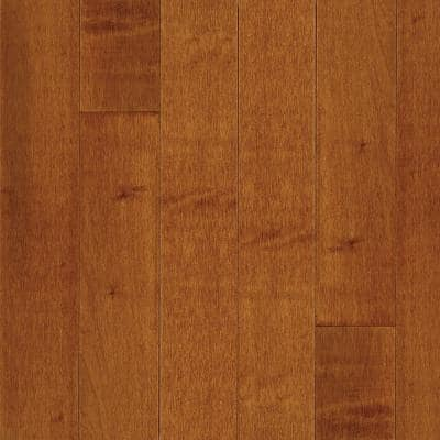 American Originals Warmed Spice Maple 3/8 in.T x 5 in.W x Varying L Engineered Click Hardwood Floor (22 sq.ft./case)