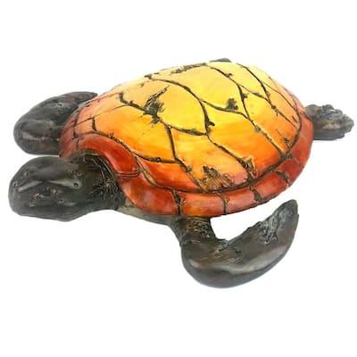 11 in. Driftwood Sea Turtle Figurine