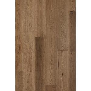 Hickory Crown 1/2 in. T x 7.5 in. W x Varying Length Engineered Hardwood Flooring (31.09 sq. ft./case)