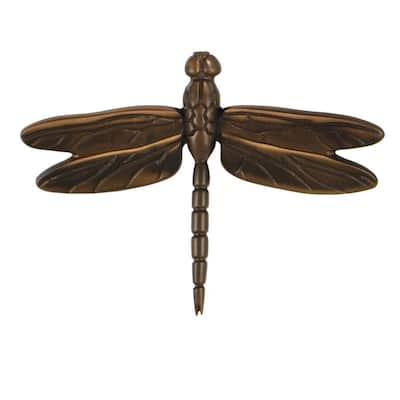 Oiled Bronze Dragonfly Door Knocker