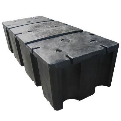 24 in. x 60 in. x 16 in. Foam Filled Dock Float Drum